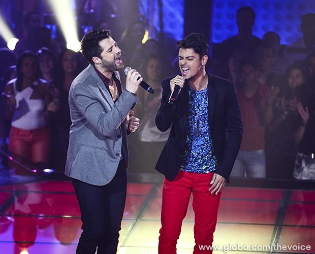 André e Kadu Tira-Teima 2 (Foto: Fabiano Battaglin/TV Globo)