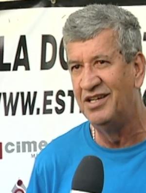 Dário Lourenço, novo técnico do Estrela (Foto: Reprodução/ TV Gazeta Sul)
