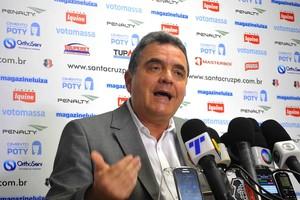 Antônio Luiz Neto presidente Santa Cruz (Foto: Aldo Carneiro / Pernambuco Press)