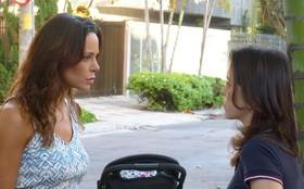 Juliana surge tensa em cenas gravadas por Vanessa Gerbelli