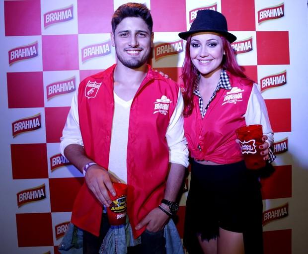 Daniel Rocha e Josie Pessôa (Foto: Joshua Bryan E Denilson Santos / AgNews)