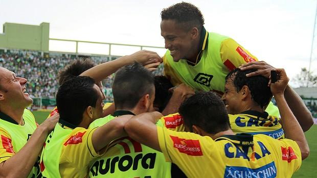 Chapecoense x Palmeiras (Foto: Aguante Comunicação/Chapecoense)