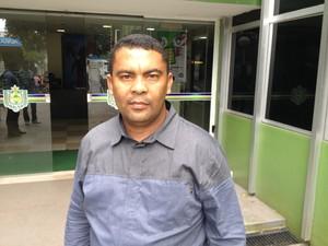 Genival Gemaque, prefeito de Pedra Branca do Amapari (Foto: Abinoan Santiago/G1)