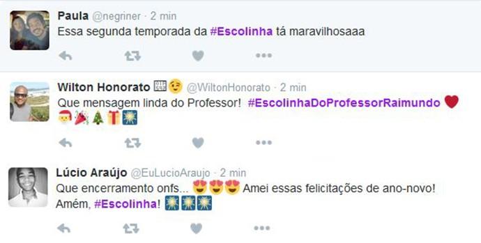 Usuários das Redes Sociais elogiam o episódio. (Foto: TV Globo)