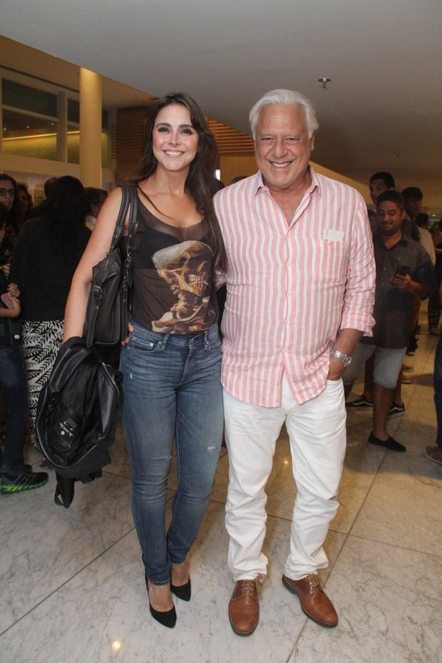 Alexandra Martins e Antonio Fagundes (Foto: Thyago Andrade- Brazilnews)