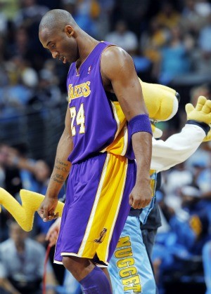 Basquete NBA Kobe Bryant Los Angeles Lakers (Foto: AP)