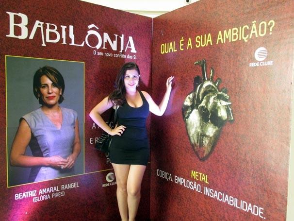 Ação da TV Clube convidou telespectador a descobrir suas ambições e escolhe sua personagem favorita. (Foto: Katylenin França)