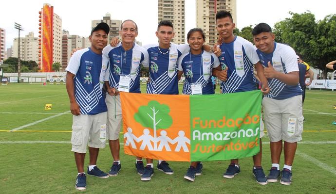 Atletas indígenas do Amazonas são convocados para campeonato de Tiro com Arco na Guatemala (Foto: Divulgação/Fas)