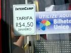 Tarifa de ônibus a R$ 4,50 começa a valer neste sábado em Campinas, SP