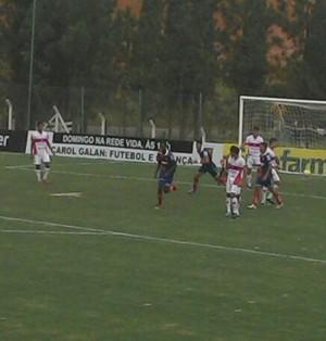 Paraná x CRB Copa São Paulo de Futebol Júnior (Foto: Aline Fonseca / Prefeitura de Tatuí)