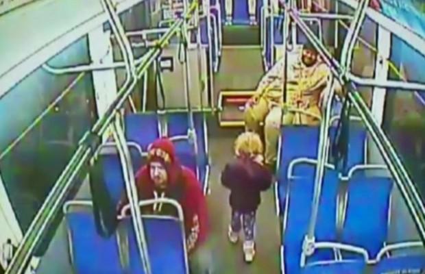 A garota, identificada apenas como Anabelle, escapou de casa, na Filadélfia (Foto: BBC)