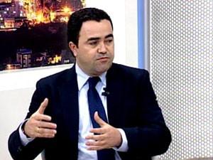 Prefeito Vladmir xx espera receber recursos do governo em breve (Foto: reprodução/TV Integração)