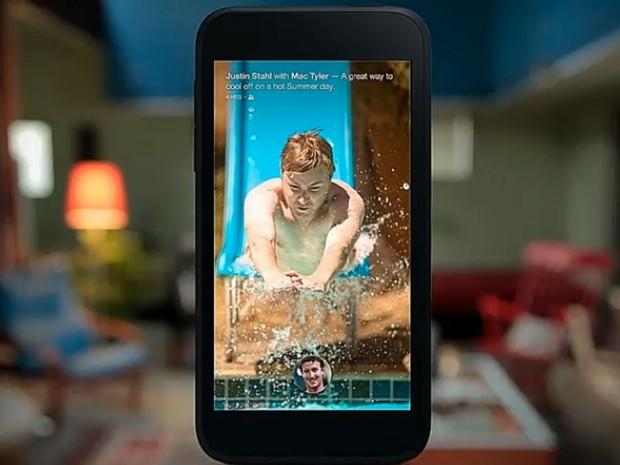Facebook anuncia nova interface 'Home' para celulares Android que mostra 'news feed' na tela inicial. (Foto: Reprodução/Facebook)