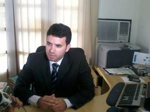 Delegado da Polícia Federal Thiago Garcia Amorim (Foto: Henrique Corrêa/ G1)