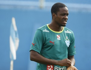 Marcelo Nicácio, durante treino no Paysandu (Foto: Marcelo Seabra/O Liberal)