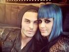 Suposto namorado de Katy Perry posta foto com a cantora no Twitter