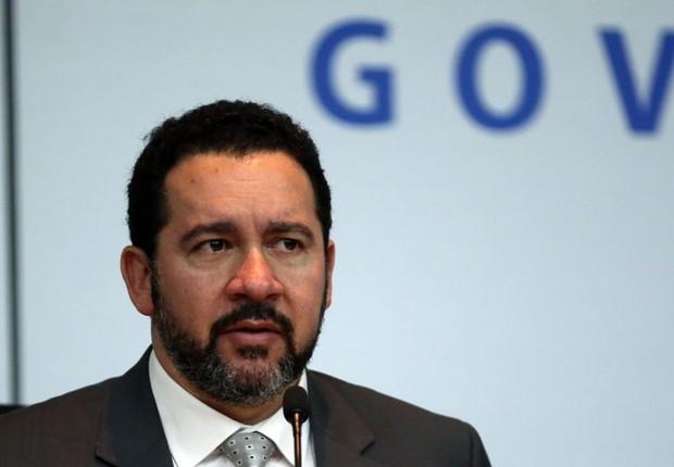 O ministro do Planejamento, Dyogo Oliveira, fala sobre o programa de PDV para funcionalismo público (Foto: José Cruz/Agência Brasil)