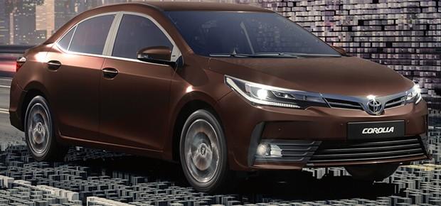 Novo Corolla, da Toyota (Foto: Divulgação)