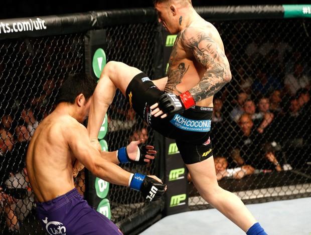 Norman Parke X Naoyuki Kotani - UFC Dublin (Foto: Getty Images)