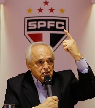 Leco presidente do São Paulo (Foto: Nelson Antoine/Frame/Estadão Conteúdo)