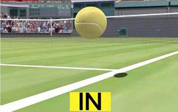 olho do falcão tênis (Foto: Reprodução/Record)