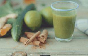 Receita de suco verde com couve e pepino