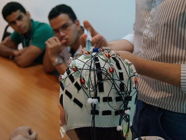 O candidato participará de estudos envolvendo sinais eletrofisiológicos   (Foto: Ascom ISD/Divulgação)