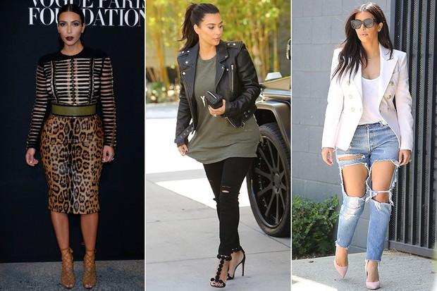 MODA - Estilo Kim Kardashian (Foto: Getty Images | X17)