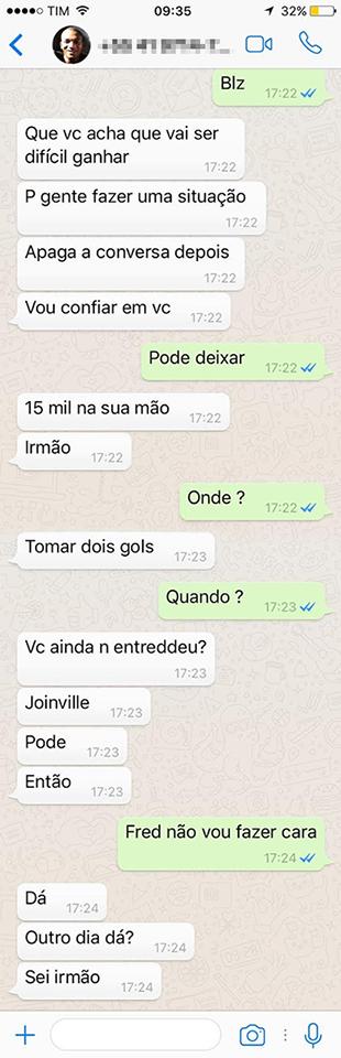 Whatsapp Joinville 2 (Foto: Reprodução)