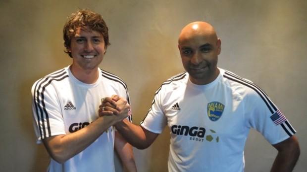 Betu Linck e Emerson selam a parceria no escritório em Porto Alegre