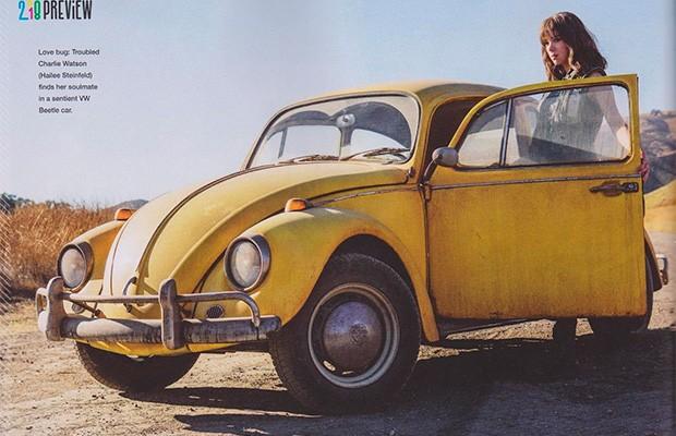 Bumblebee será Fusca em novo filme solo da série Transformers (Foto: Reprodução/Empire)