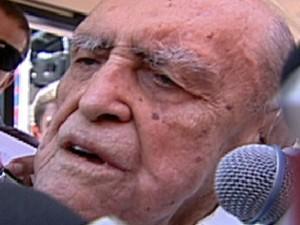 Niemeyer (Foto: Rede Globo)