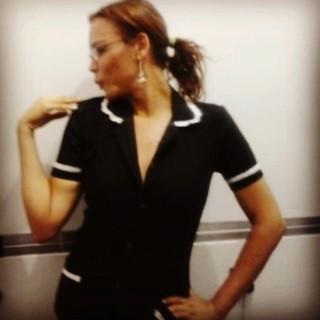 Luisa Marilac agora é camareira (Foto: Reprodução do Instagram)