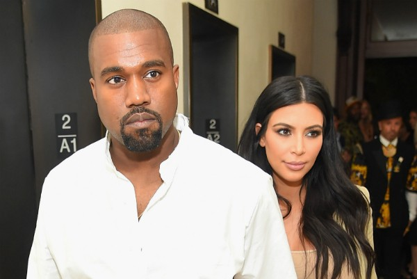 Kanye West e Kim Kardashian (Foto: Getty Images)