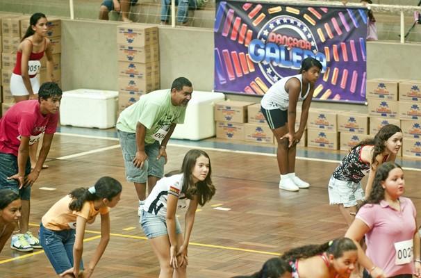 Ensaio do Dança da Galera 2012 (Foto: TV Globo / Sergio Amaral)