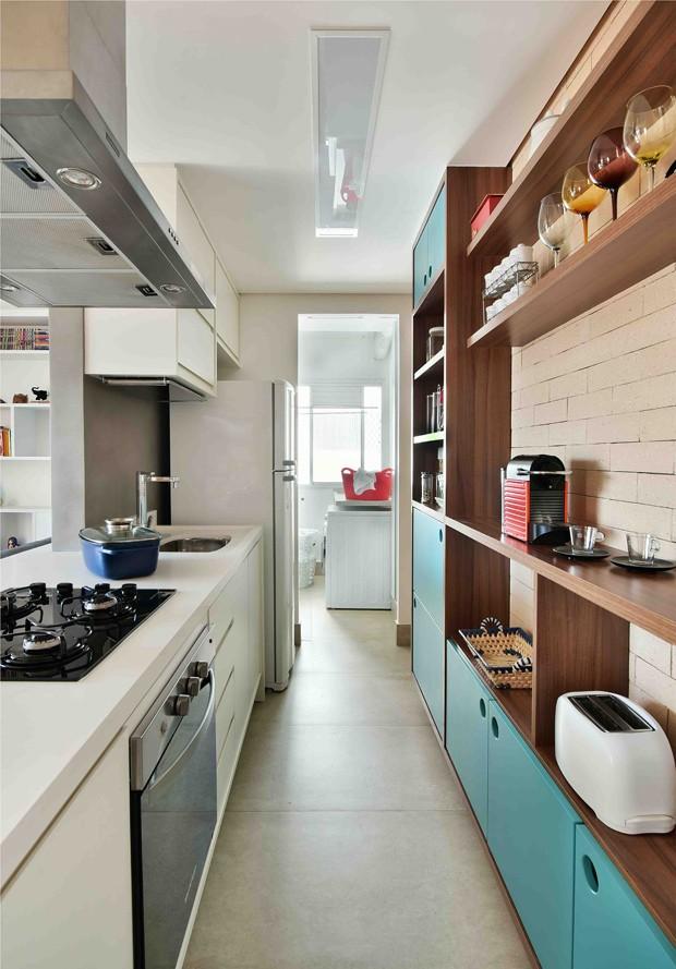 O forro de gesso da Gesso Leme foi instalado em todo o apartamento (Foto: Sidney Doll)