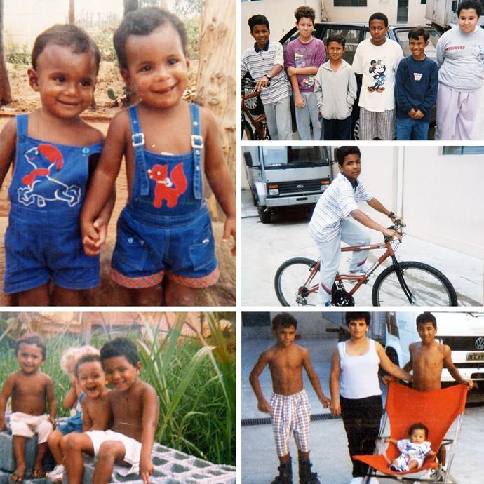 Mosaico Wilson Reis infância (Foto: Esporte Arte)