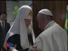 Papa Francisco e patriarca russo fazem reunião histórica em Cuba