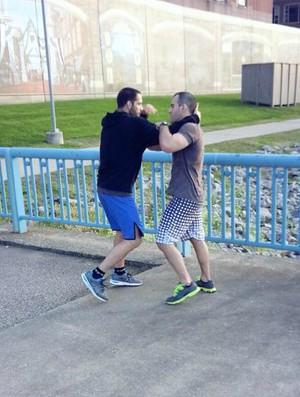 Matt Brown e Rodrigo Botti fazem última movimentação (Foto: Divulgação/Arquivo Pessoal)