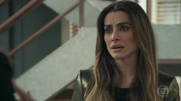 Tamara pede para Penélope deixar que ela fique com Apolo