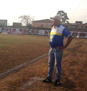 Técnico do Palmas, Wilsomar Sena (Foto: Vilma Nascimento/GloboEsporte.com)