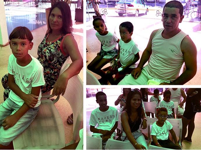 Paixão Cega Flamengo crianças (Foto: Editoria de Arte)