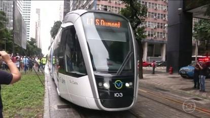 VLT é inaugurado no Rio de Janeiro