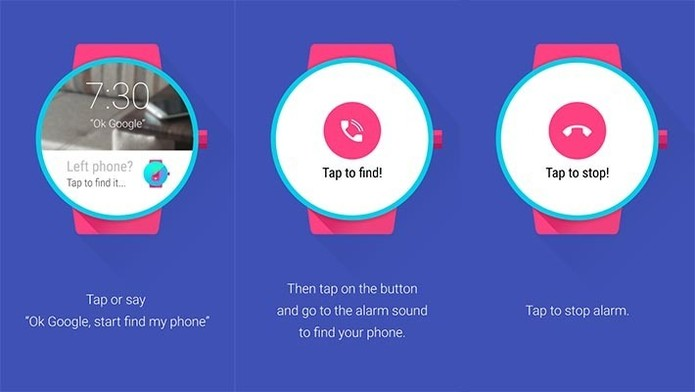 Find My Phone para Android Wear
