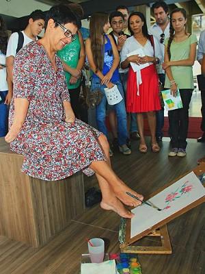 Teatro Municipal de Araraquara apresenta obras de Maria Goret Chagas (Foto: Divulgação/Prefeitura de Araraquara)