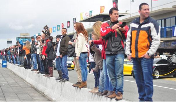 Curitiba Motor Show (Foto: Anelisa Brito/RPC TV)