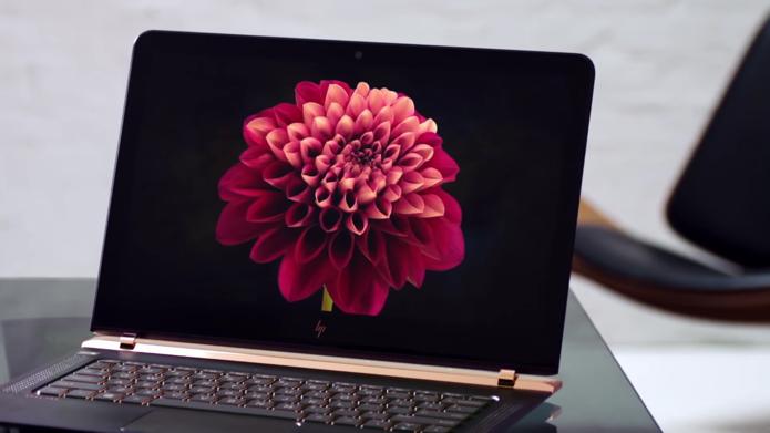 HP cobra pelo Spectre um pouco menos do que a Apple pelo Macbook (Foto: Divulgação/HP)
