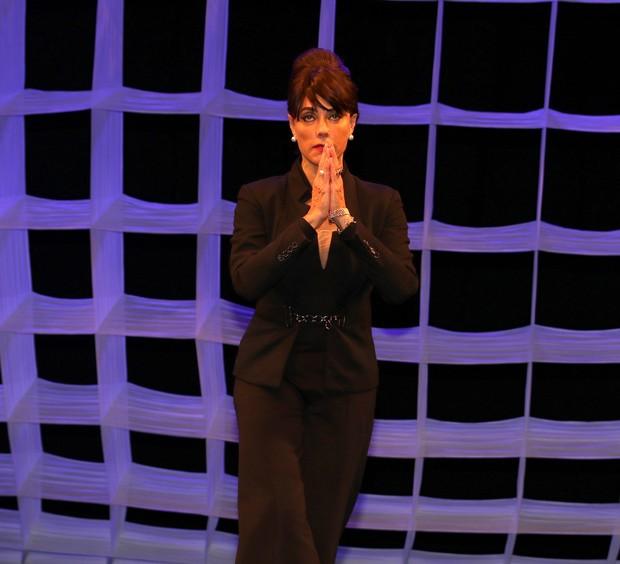 Christiane Torloni em cena (Foto: Thiago Duran/AgNews)