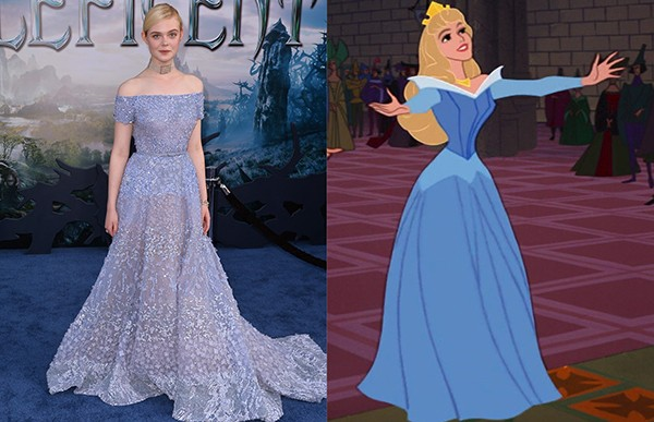 Elle Fanning como Aurora (Foto: Getty Images)