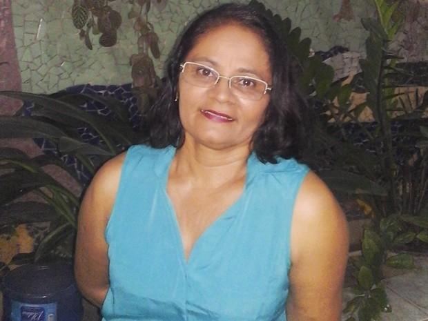 Professora Dorinha (Foto: Maria das Dores/Arquivo pessoal)